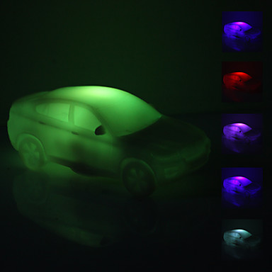 1 buc LED-uri de lumină de noapte Baterie Decorativ