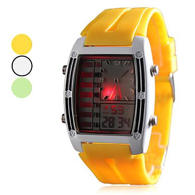a4c9c5436 zápěstí pánské gumové vedl analogový - digitální hodinky (různé barvy)  482132 2019 – €11.99