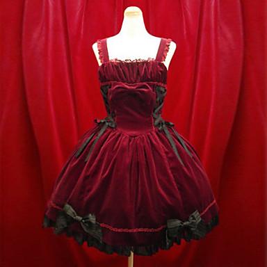 8bfba23faf2 Gothic Lolita Aristocrat Lolita Dress Black Red Short Length Dress Lolita  Accessories   Gothic Lolita Dress 522750 2019 –  205.68