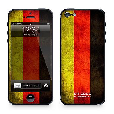 1 piesă pentru Rezistent la Zgârieturi Steag Model iPhone 4/4S