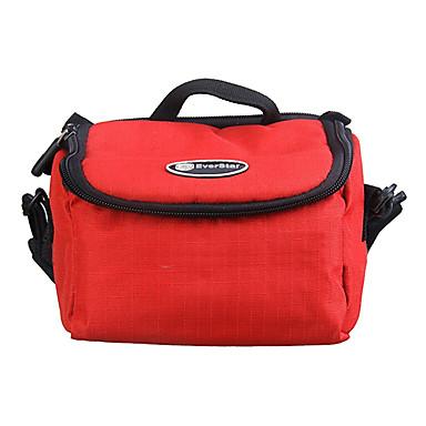 ripstop poliester căptușit de protecție geantă de transport moale sac de aparat de fotografiat digital de mari dimensiuni - roșu
