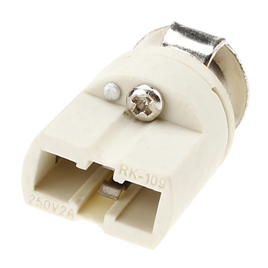 olcso LED-es kiegészítők-g9 alap izzó foglalat kerámia lámpa tartó