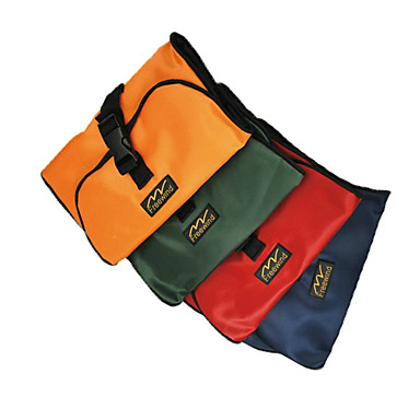 billige Rejsetasker-Bærbar Oxford Fabric Wash Bag (tilfældige farver)