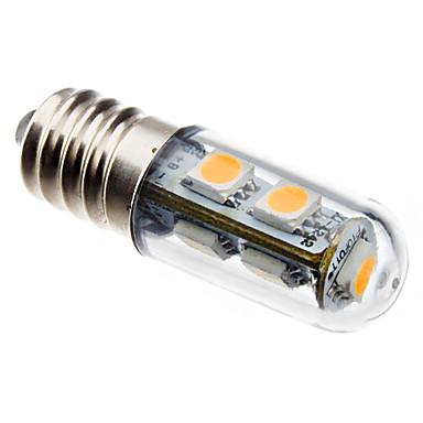 Becuri LED Corn 80 lm E14 T 7 LED-uri de margele SMD 5050 Alb Cald 220-240 V / CE / # / RoHs