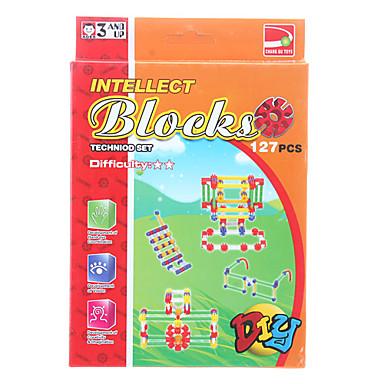 olcso puzzle játékok-diy értelem blokkok (127pcs, modell :1727-d)