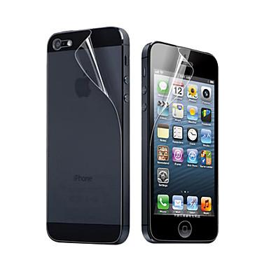 Ecran protector pentru Apple iPhone 6s Plus / iPhone 6 Plus / iPhone SE / 5s PET 10 piese Ecran Protecție Față & Spate Ultra Subțire