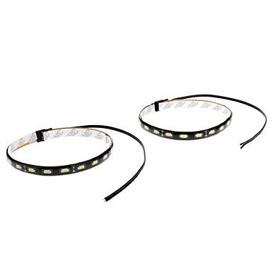 Недорогие Огни для авто-2pcs Автомобиль Лампы 9 W SMD 5630 800 lm 18 Светодиодная лампа Украшения огней Назначение