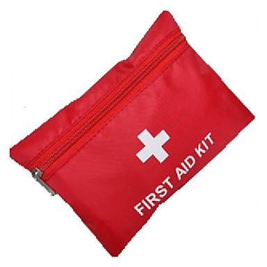 Trusă de prim ajutor Portabil Prim Ajutor Nailon Camping & Drumeții Roșu-aprins 1 pcs