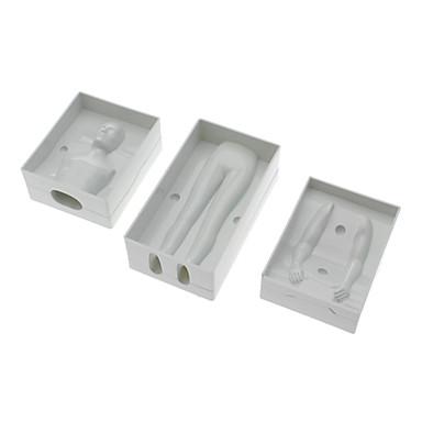 3pcs Plastic Ecologic Nuntă Tort Biscuiți Plăcintă coacere Mold Instrumente de coacere