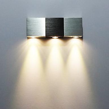 AC 85-265 3 LED Integrat  Modern/Contemporan Galvanizat Caracteristică for LED Stil Minimalist Bec Inclus,Lumină AmbientalăLumina de