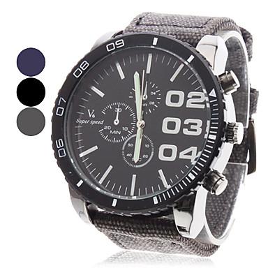 V6 Bărbați Ceas Militar  Ceas de Mână Aviation Watch Quartz Quartz Japonez Negru / Albastru / Gri Ceas Casual Analog Charm - Negru Gri Albastru Doi ani Durată de Viaţă Baterie / Mitsubishi LR626