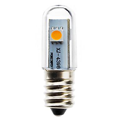 1 buc 0.5 W Becuri LED Corn 30-40 lm E14 T 3 LED-uri de margele SMD 5050 Alb Cald 220-240 V / # / RoHs