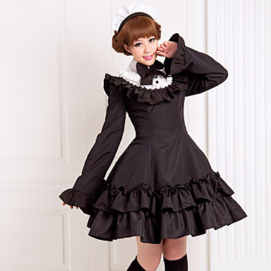 Egyrészes Ruhák Klasszikus és hagyományos Lolita Lolita kiegészítők Ruha  mert Pamut 467111 2019 – €95.99 bc79f68d84