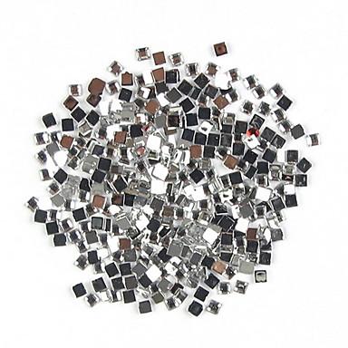 1000 pcs Teracotă Strălucire Bijuterie unghii Ștrasuri Pentru deget nail art pedichiura si manichiura Zilnic Punk / Nuntă / Modă / Unghiul de bijuterii
