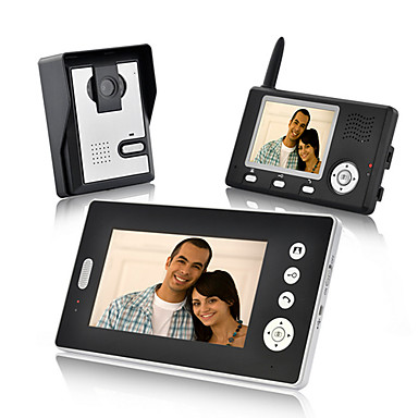 cheap Access Control-KONX Wireless Photographed 7inch Handheld One to Two video doorphone