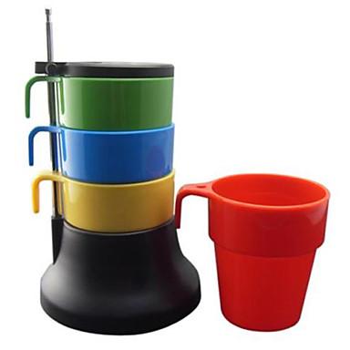 povoljno Pribor za kavu/čaj i čaše-Slaganje Šarene Tea Set šalica za kavu