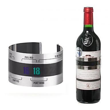 sticlă de vin din oțel inoxidabil cu termometru termic