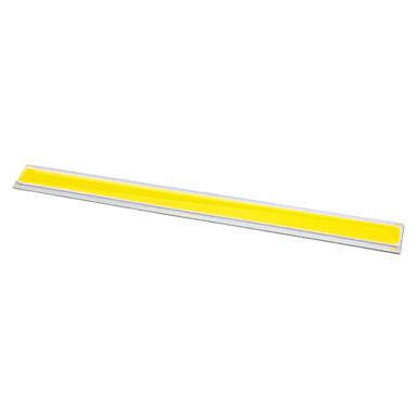 olcso Nagy teljesítményű LED-zdm diy 10w 170 x 15 mm 900-1000lm melegfehér 3000-3500k könnyű gerenda vezető emitter bélelt alumínium hordozó (dc12v)
