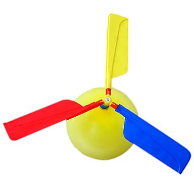 olcso Balloons-Repülő kütyü Léggömbök Helikopter Helikopter Parti Felfújható Újdonságok Műanyag Gyermek Felnőttek Játékok Ajándék 1 pcs