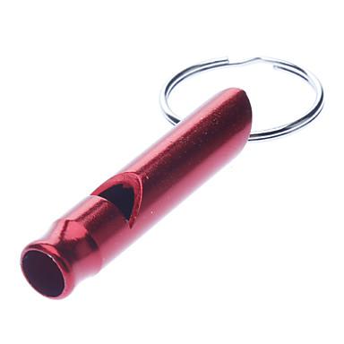 olcso Kemping felszerelések-Survival Outdoor Training Sürgősségi Whistle kulcstartó (vegyes színek)