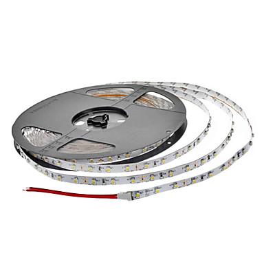 ZDM® 2x5M Fâșii De Becuri LEd Flexibile 300 LED-uri 3528 SMD / SMD2835 Alb Cald Ce poate fi Tăiat / Petrecere / Auto- Adeziv 12 V 2pcs