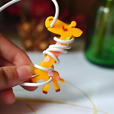 bobinatorului cauciuc girafa (culoare aleatorii)