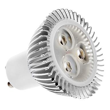 1 buc 4.5 W Spoturi LED 2700 lm GU10 3 LED-uri de margele LED Putere Mare Alb Cald 100-240 V