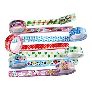 bandă adezivă (set de 4 culori aleatorii) pentru școală / birou