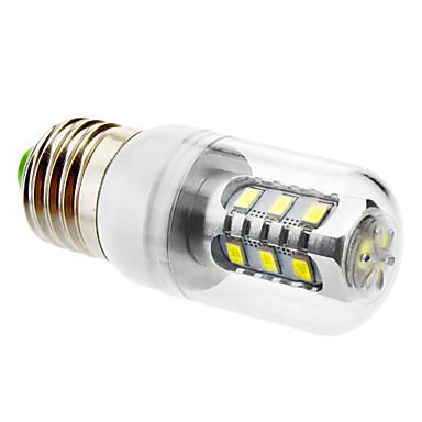 600 lm E26/E27 Becuri LED Corn T led-uri SMD 5630 Alb Natural AC 220-240V
