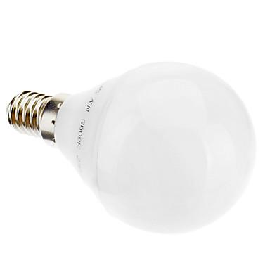 3 W Bulb LED Glob 2700 lm E14 G45 28 LED-uri de margele Alb Cald 220-240 V / #