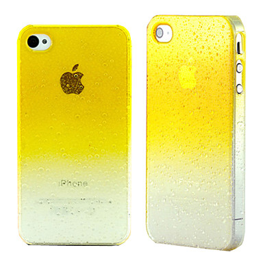 voordelige iPhone-hoesjes-hoesje Voor iPhone 4/4S iPhone 4s / 4 Achterkant Hard PC