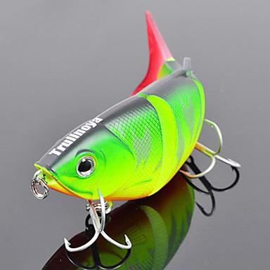 1 pcs Δόλωμα Momeală Dură Plevușcă Scufundare Bass Păstrăv Ştiucă Pescuit mare Pescuit de Apă Dulce Plastic Dur