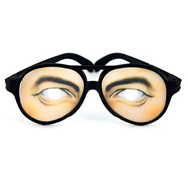 eefc5cc541ee Mænd Eye Print practical joke sjove briller til Halloween kostumebal 742663  2019 – €2.39