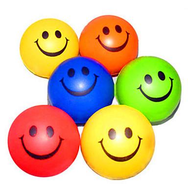 رخيصةأون مخففات التوتر-وجه سعيد منقوشة الإجهاد المخلص كرات المطاط (لون عشوائي)