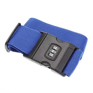 057b6e1c97 [€9.47] Viaggi Fascia elastica per valigia / Materassino gonfiabile  Accessori per valigia Chiusura a codice Tessuto