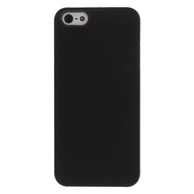 Недорогие Кейсы для iPhone 5с-Кейс для Назначение Apple iPhone X / iPhone 8 Pluss / iPhone 8 Ультратонкий / Матовое Кейс на заднюю панель Однотонный Твердый ПК