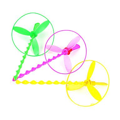 olcso repülő kütyük-Repülő Helikopter Umbrella Jet Device Dragonfly (Random Color)