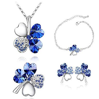 Women 39 S Crystal Jewelry Set Crystal Rhinestone