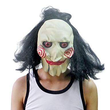 Clown masca cu acopere capul pentru costum de Halloween Party