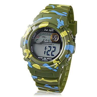9f824a2f3701 Niño Reloj Deportivo Cuarzo LCD Caucho Banda camuflaje Verde Marca- 787150  2019 – €4.99