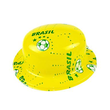 Pălărie național steagul Braziliei