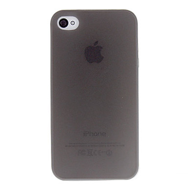 cheap iPhone Cases-Case For iPhone 4/4S / Apple iPhone 4s / 4 Back Cover Soft TPU