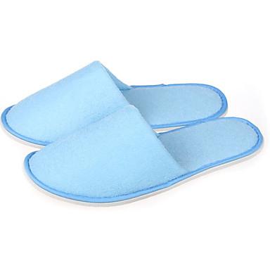 Papuci Damă / Papuci Bărbați Papuci de Musafir Tradițional Pânză Dantelă Împletit Pantofi