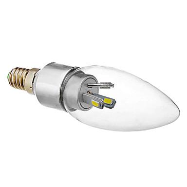 330 lm E14 Becuri LED Lumânare 6 led-uri SMD 5630 Alb Rece
