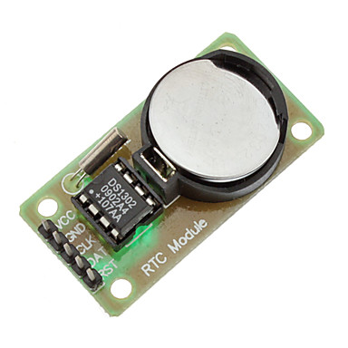 DS1302 Real Time Clock Module with CR2032 Button Cell