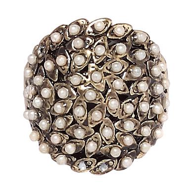 رخيصةأون خواتم-نسائي القلائد بيان اللؤلؤ سبيكة ترف مناسب للحفلات مناسب للبس اليومي مجوهرات