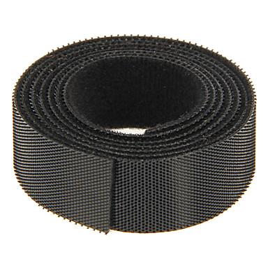 magie bandă negru 100m * 20mm pentru gestionarea firului