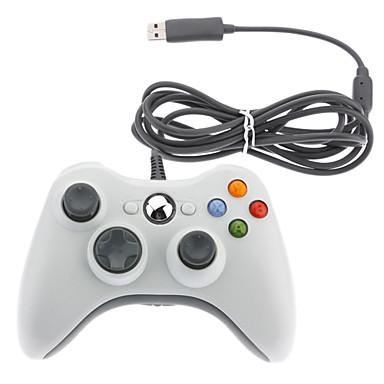 olcso Xbox 360 kontrollerek-vezetékes játékvezérlő xbox 360 / windows / málna pi / macos számára