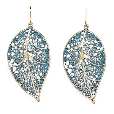 Žene Viseće naušnice Leaf Shape dame Naušnice Jewelry Za Dnevno