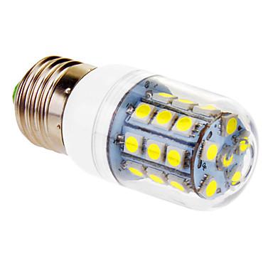 Becuri LED Corn 450 lm E26 / E27 T 30 LED-uri de margele SMD 5050 Alb Rece 220-240 V